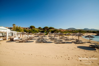 seaside wedding venue in Sardinia