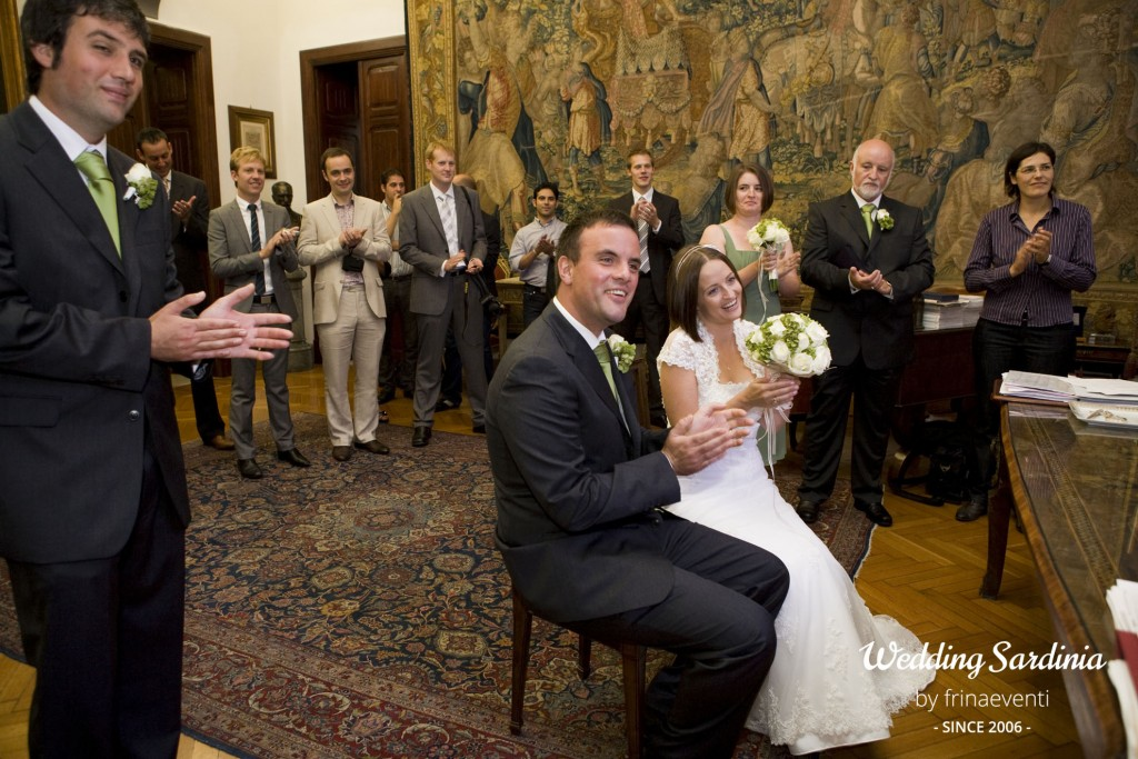 Civil wedding ceremonies in Sardinia