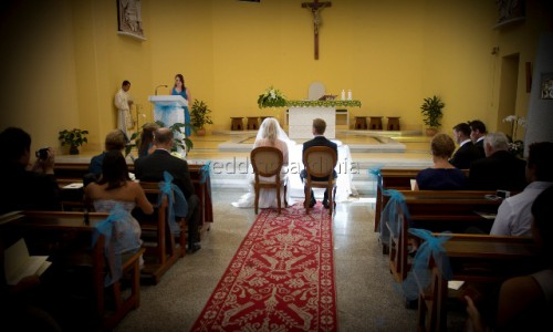 Catholic wedding in Villasimius Sardinia