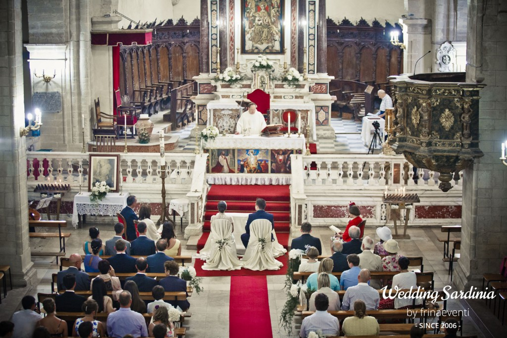 Catholic wedding ceremonies in Sardinia