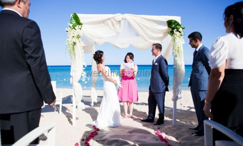 beach wedding costarei sardinia