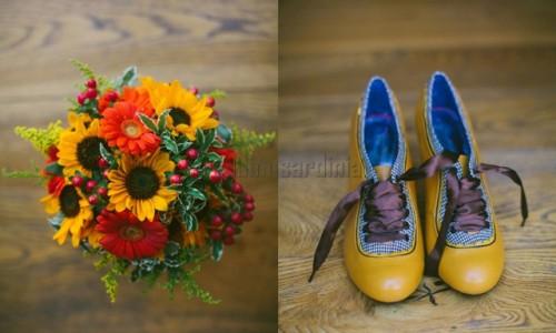 Symbolic wedding in Bosa