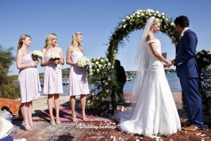 Beach wedding in Sardinia