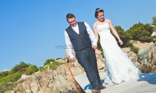 beach wedding in Emerald Coast